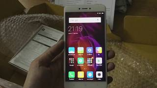 Xiaomi Redmi Note 4 unboxing and setup by Shopee [THAILAND]