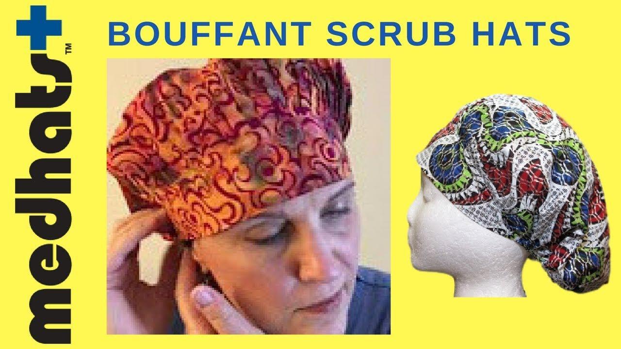 afc1dbbd03f Wearing the Classic Medhats™ Bouffant Scrub Hat - YouTube