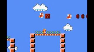 Super Mario Bros - Glitches and showing off! Vizzed.com GamePlay - User video