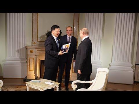 《面对面》 俄罗斯总统普京接受中国中央广播电视总台台长慎海雄专访(完整版)20180606 | CCTV