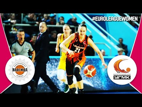 Nadezhda (RUS) v UMMC Ekaterinburg (RUS) - Full Game - EuroLeague Women 2017-18