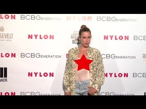 Scout Willis Wears Completely Sheer Top On The Red Carpet | Splash News TV | Splash News TV