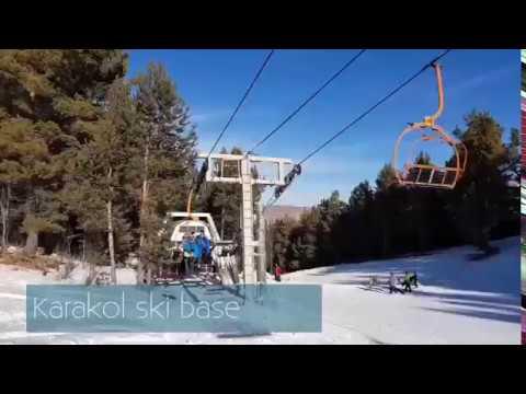 Karakol Ski Resort in Kyrgyzstan