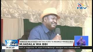 Mjadala wa BBI: Ruto na Raila watofautiana tena
