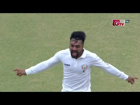 Rashid Khan's 6 wickets Against Bangladesh   Only Test   2nd Innings  Afghanistan vs Bangladesh 2019