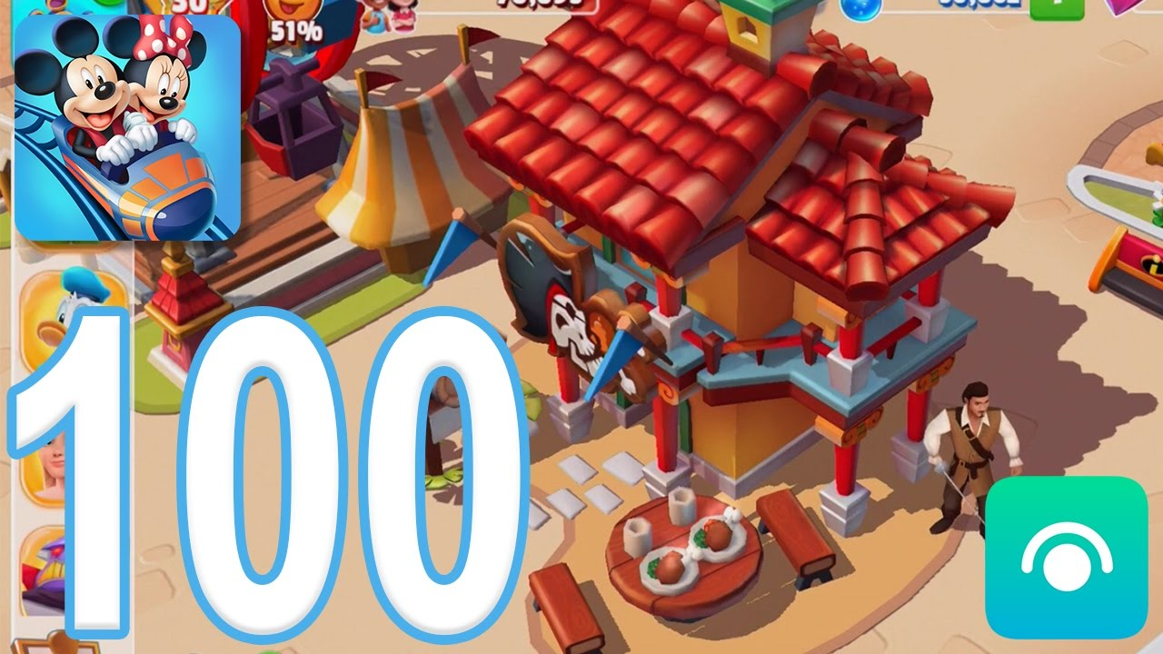 Disney Magic Kingdoms Gameplay Walkthrough Part 100 Level 30