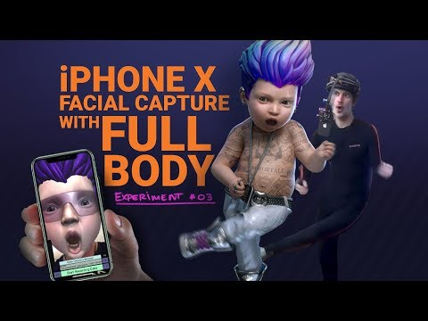 iPhone X Facial Capture test PART 3 - FULL BODY