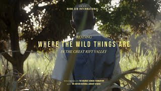 Reading 'Where the Wild Things Are' in the Great Rift Valley