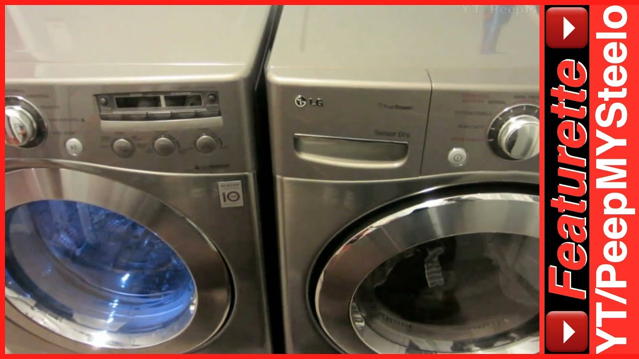 best lg washing machines on sale in top rated washer u0026 dryer combo front load machine pair cheap youtube