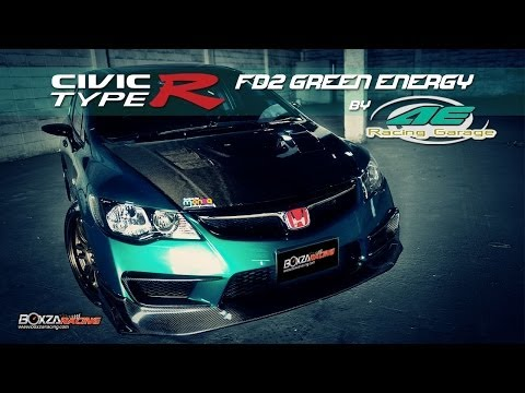 Honda Civic FD2 แต่งเต็ม By AE Racing Garage - Boxzaracing.com
