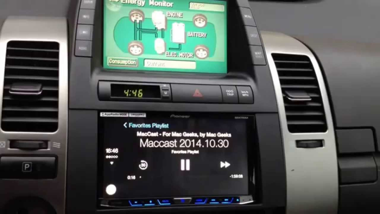 carplay с iphone в toyota