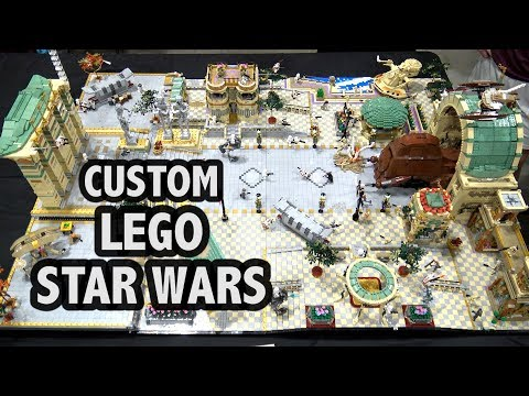 LEGO Assault on Theed from Star Wars: Battlefront II