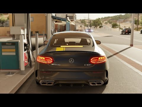 Forza Horizon 3 Mercedes-AMG C63 S Coupe Edition One Gameplay