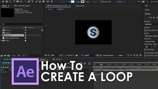Adobe bir döngü oluşturmak için nasıl After Effects CC