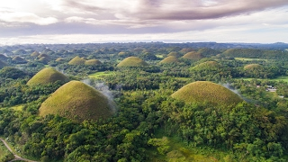 The Chocolate Hills are Incredible!!