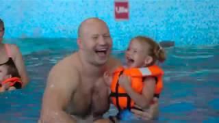 Семейная видеосъемка в аквапарке