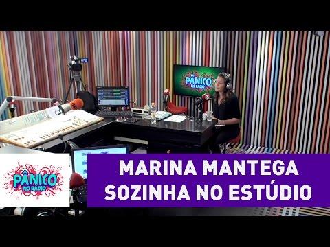 Marina Mantega é deixada sozinha no estúdio | Pânico