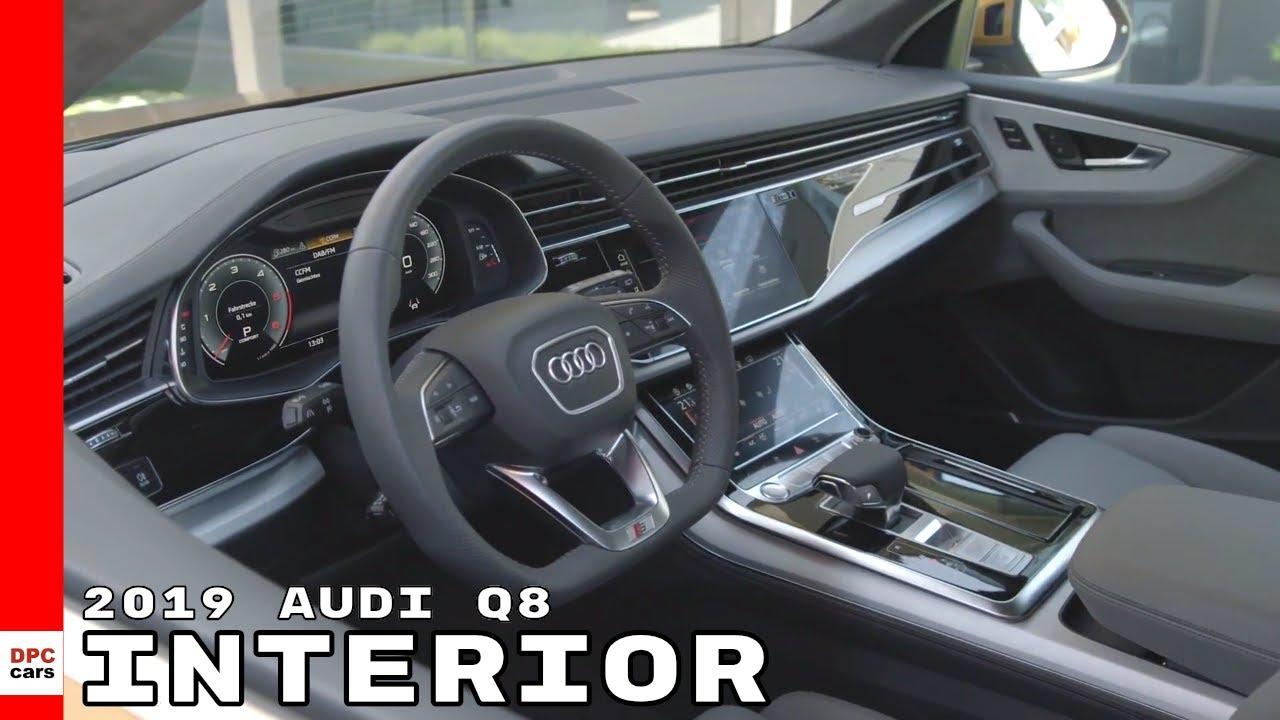 2019 Audi Q8 Interior Youtube