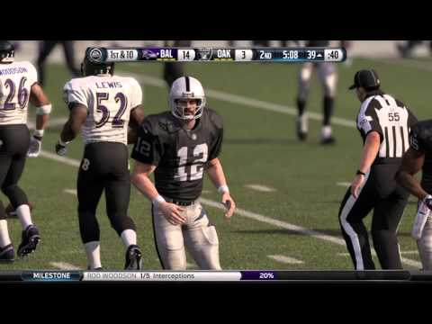 Rod Woodson 3 Interceptions in 1 Game (Part 1) Rav