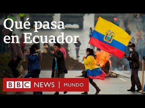 Las razones de las masivas protestas en Ecuador contra el gobierno de Lenín Moreno | BBC Mundo