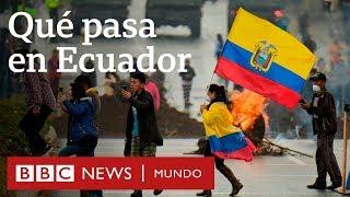 Las razones de las masivas protestas en Ecuador contra el gobierno de Lenín Moreno