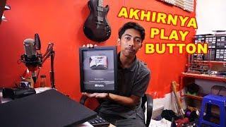 Akhirnya dapet SILVER PLAY BUTTON Dari Youtube VLOG128