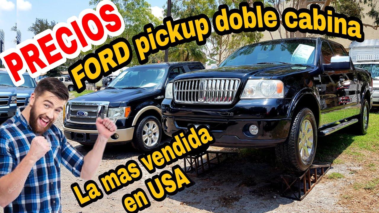 FORD PICKUP venta DOBLE CABINA cuanto cuestan en MEXICO trucks for sale zona autos usados en venta