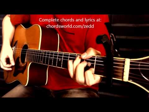 Stay The Night Chords by Zedd - How To Play - chordsworld