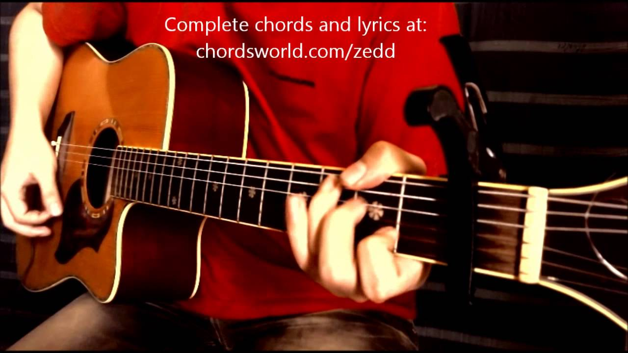 Stay The Night Chords By Zedd How To Play Chordsworld Youtube