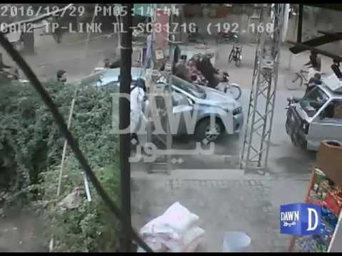 CCTV Footage Of Money Snatching
