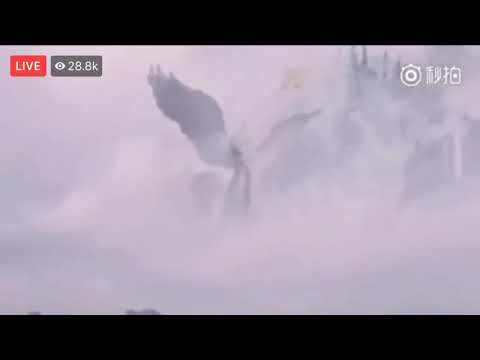 Strange Sound and Angel Like Image Appeared in China