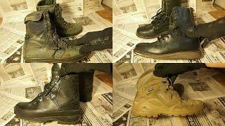Что я ношу на коп - моя военная обувь - берцы Германия и другое(Сегодня в выпуске показываю и рассказываю про обувь, в которой я хожу на коп. Для копа я использую как берцы,..., 2016-05-26T16:30:00.000Z)