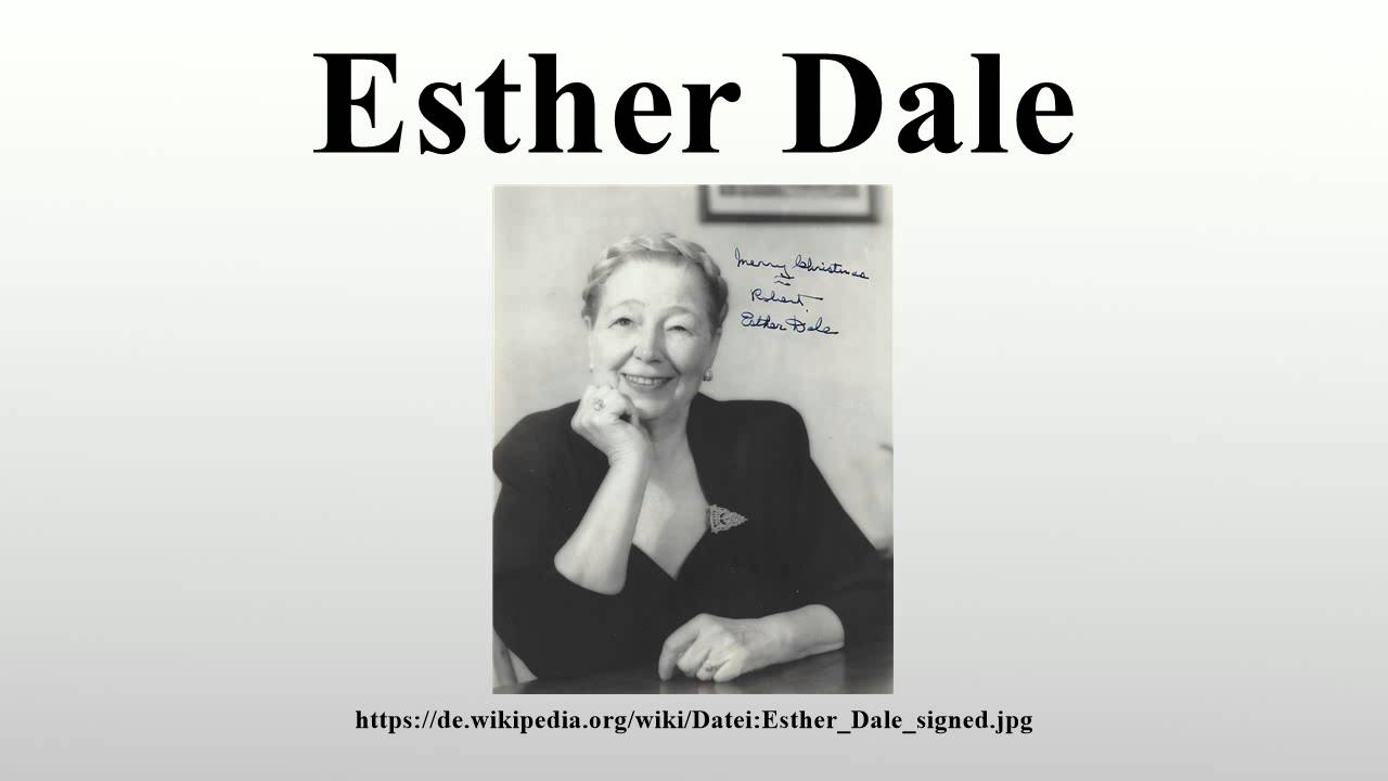 picture Esther Dale