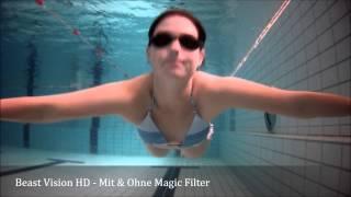 Beast Vision HD Unterwasser - Schwimmbad Teil I - Magic Filter