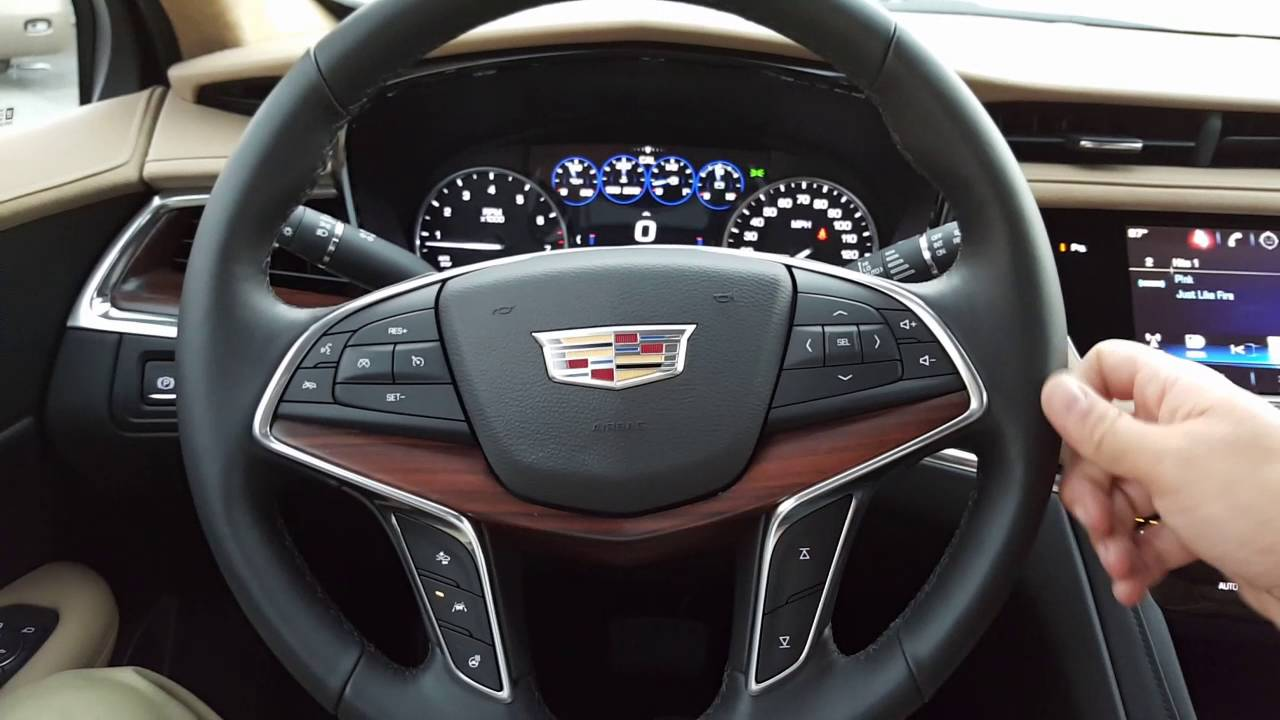 2017 Cadillac Xt5 Platinum Awd Review Youtube