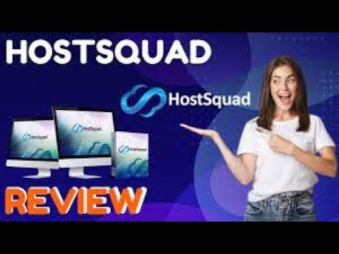 HostSquad Review + massive bonus -  HostSquad Demo