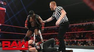 Elias vs. Lio Rush: Raw, Dec. 10, 2018