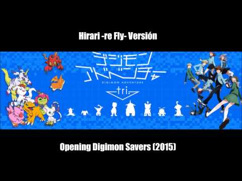 Hirari ~re-fly version~ Digimon Savers 2015 (Adventure Tri)
