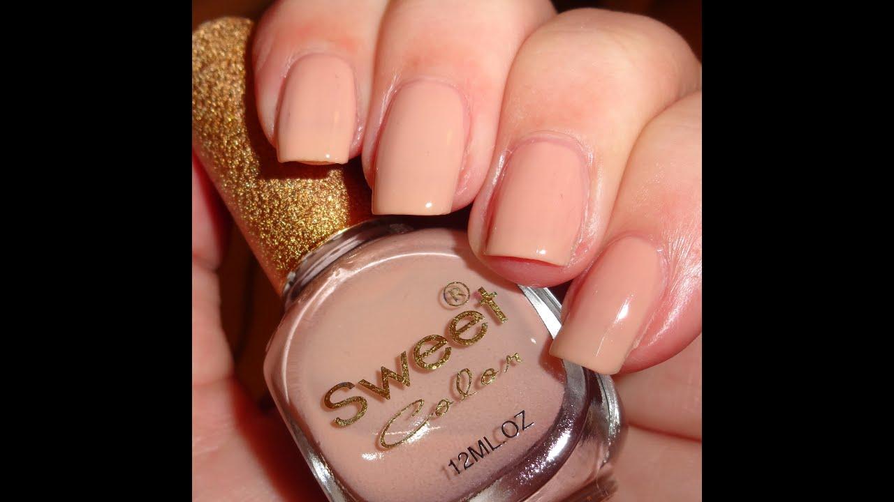 Nail Colors Youtube: Born Pretty Store Sweet Color Nail Polish S340