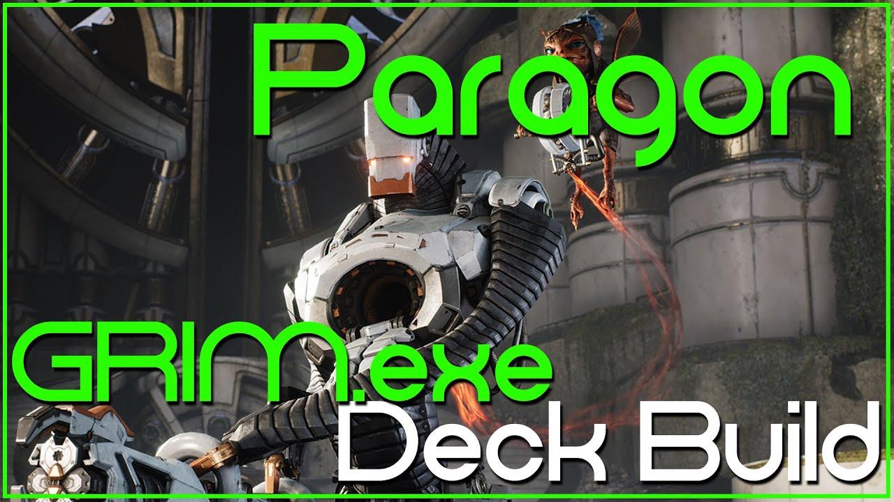how to build a khamera deck paragon