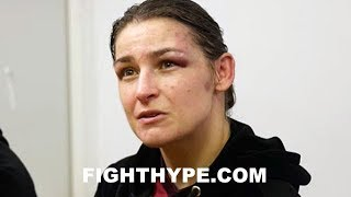 """""""WHATEVER IT TAKES"""" - KATIE TAYLOR DISCUSSES """"TOUGHEST FIGHT"""" IN WIN OVER JESSICA MCCASKILL"""