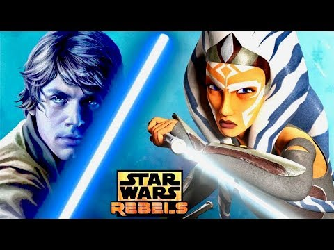 Will Ahsoka Attempt to Train Luke During the Original Trilogy? (Or SHOULD  She?)