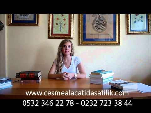 Cesmede Satilik Alacatida Acil Satilik Ilicada Villa