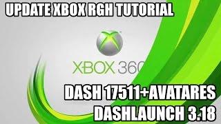 Tutorial Actualizar Rgh 17511  | Dash+Avatar+DashLaunch 3.18 (Solucion A Error Xexbuild)