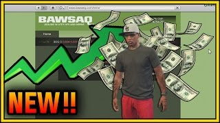 GTA 5 DLC Update - STOCK MARKET WHAT HAPPEN ? (GTA 5 ONLINE DLC)