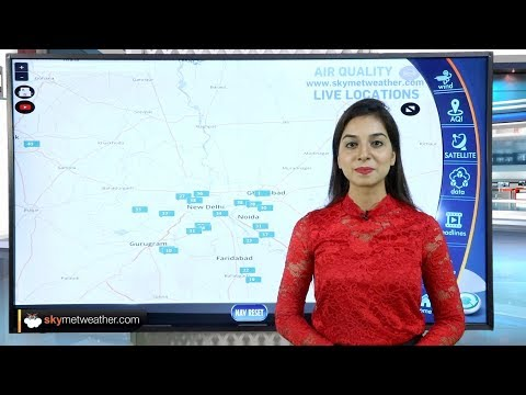 Delhi Pollution easing, most parts observe 'good' air quality | Skymet Weather