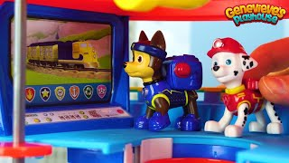 Repeat youtube video Best Learning Videos for Kids Learn Colors with Paw Patrol Peppa Pig Rescue & Ice Cream Compilation!