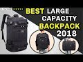 Best Travel Backpack 2018   Large Capacity Backpack   Many Compartments   Long Lasting   Fashionable