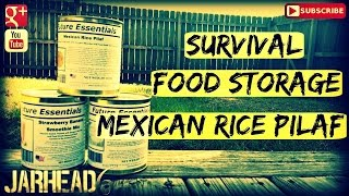 Survival Food Storage: Mexican Rice Pilaf From Mredepot.com