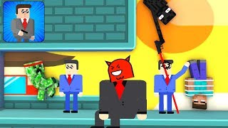 Monster School : Mr Bullet 2 - Spy Puzzles Challenge - Minecraft Animation